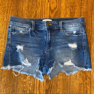 Altar'd State Distressed Jean Shorts